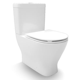 Kohler 21001A0 Reach II BTW Toilet With Slim Seat