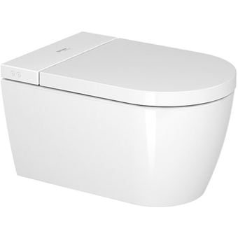 Duravit 612000012400324P SensoWash Starck f Plus Wall Hung Toilet Pan and Seat