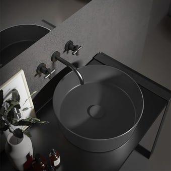 Hatria A0Y1VG06 Blackboard Happy Hour Wash Basin SLIM 07:00