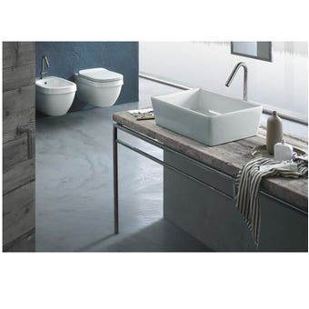 Hatria A0Y1VH01 Happy Hour Wash Basin SLIM 11:00, Gloss White