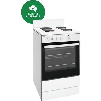 Chef CFE532WB 54cm White Electric Freestanding Oven