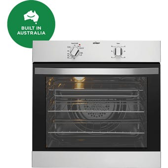 Chef CVE612SA 60cm Stainless Steel Built-in Oven