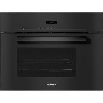 Miele DG2840OBLK VitroLine Obsidian Black Steam Oven