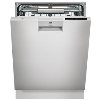 AEG FFE83800PM Stainless Steel Built Under Dishwasher