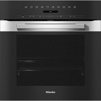 Miele H7264BPCLST PureLine CleanSteel Pyrolytic Oven