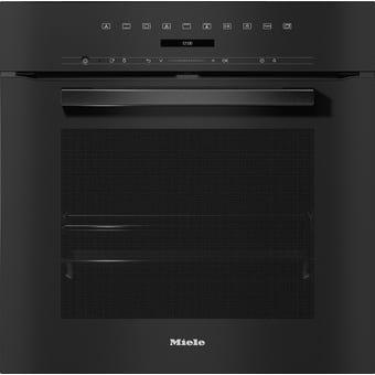 Miele H7264BPOBLK VitroLine Obsidian Black Pyrolytic Oven