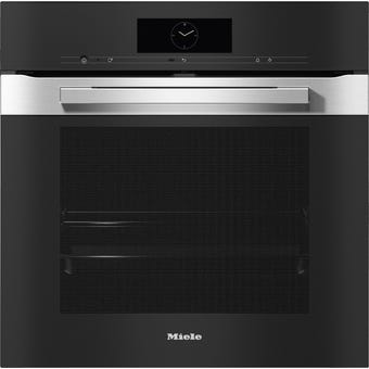 Miele H7860BPCLST PureLine CleanSteel Pyrolytic Oven