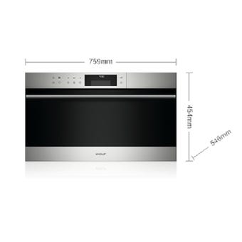 Wolf ICBCSO30TESTH1 76cm E Series Transitional Convection Steam Oven
