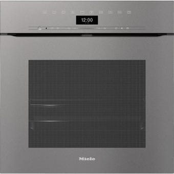 Miele H7464BPXGREY front view