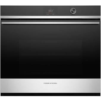 Fisher Paykel OB76SDPTDX1 front view - closed