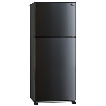 Mitsubishi MRFX420EPSBA 420L Black Top Mount Fridge