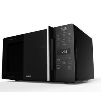 Whirlpool MWCF25BK Black 25L Crisp N' Grill Microwave