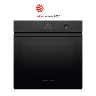 Fisher Paykel OB60SDPTDB1 front view - closed