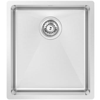 Abey SAL360 Salerno Stainless Steel Single Bowl Sink