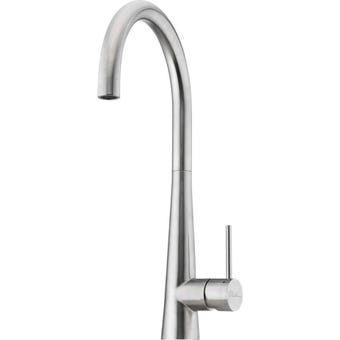 Oliveri SS2520 Essente Stainless Steel Gooseneck Mixer Tap