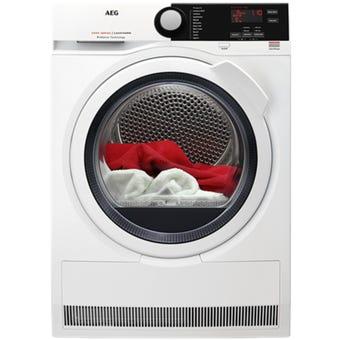 AEG T6DCE821B 8kg 6000 Series Condenser Dryer