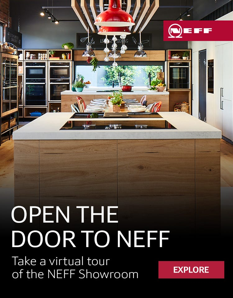 Open the door to NEFF - Take a virtual tour of the NEFF Showroom