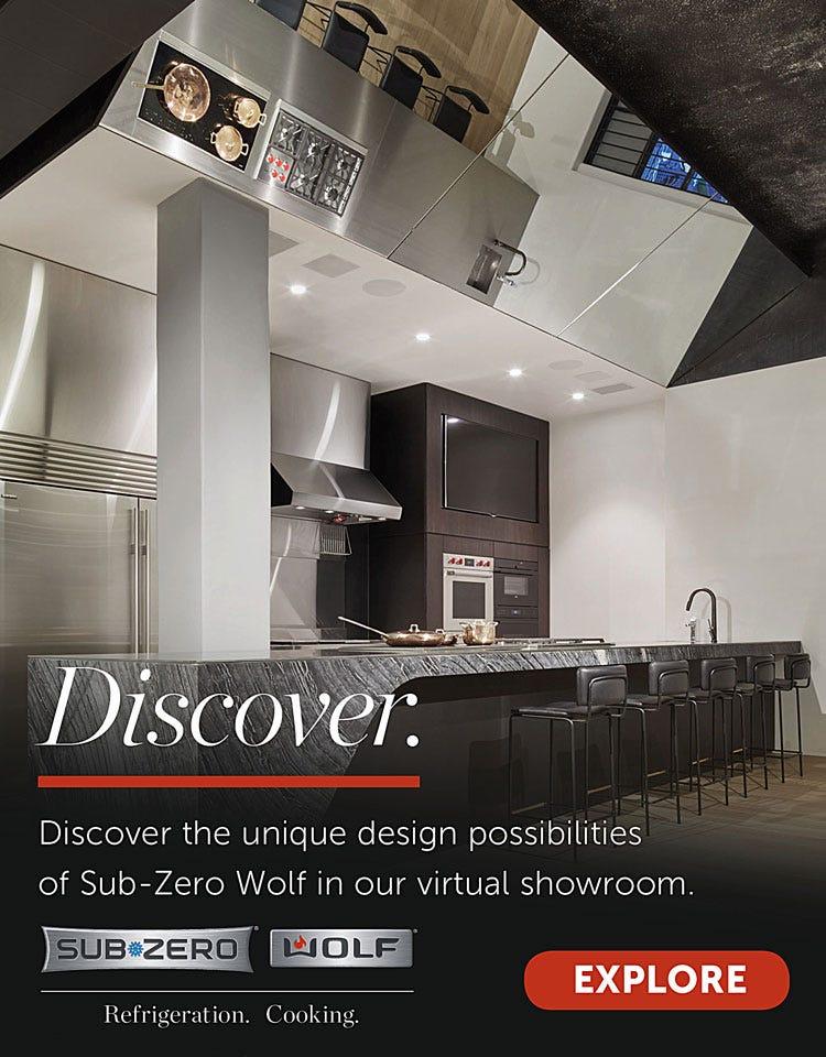 Discover the unique design possibilities of Sub-Zero Wolf in our virtual showroom